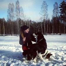 Emma och hundar